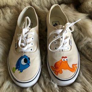 Custom Disney themed vans
